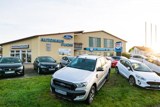 Ford Händler in Böhmenkirch - Autohaus Fuchs