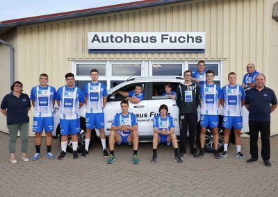 Handball ist unsere Leidenschaft - Autohaus Fuchs