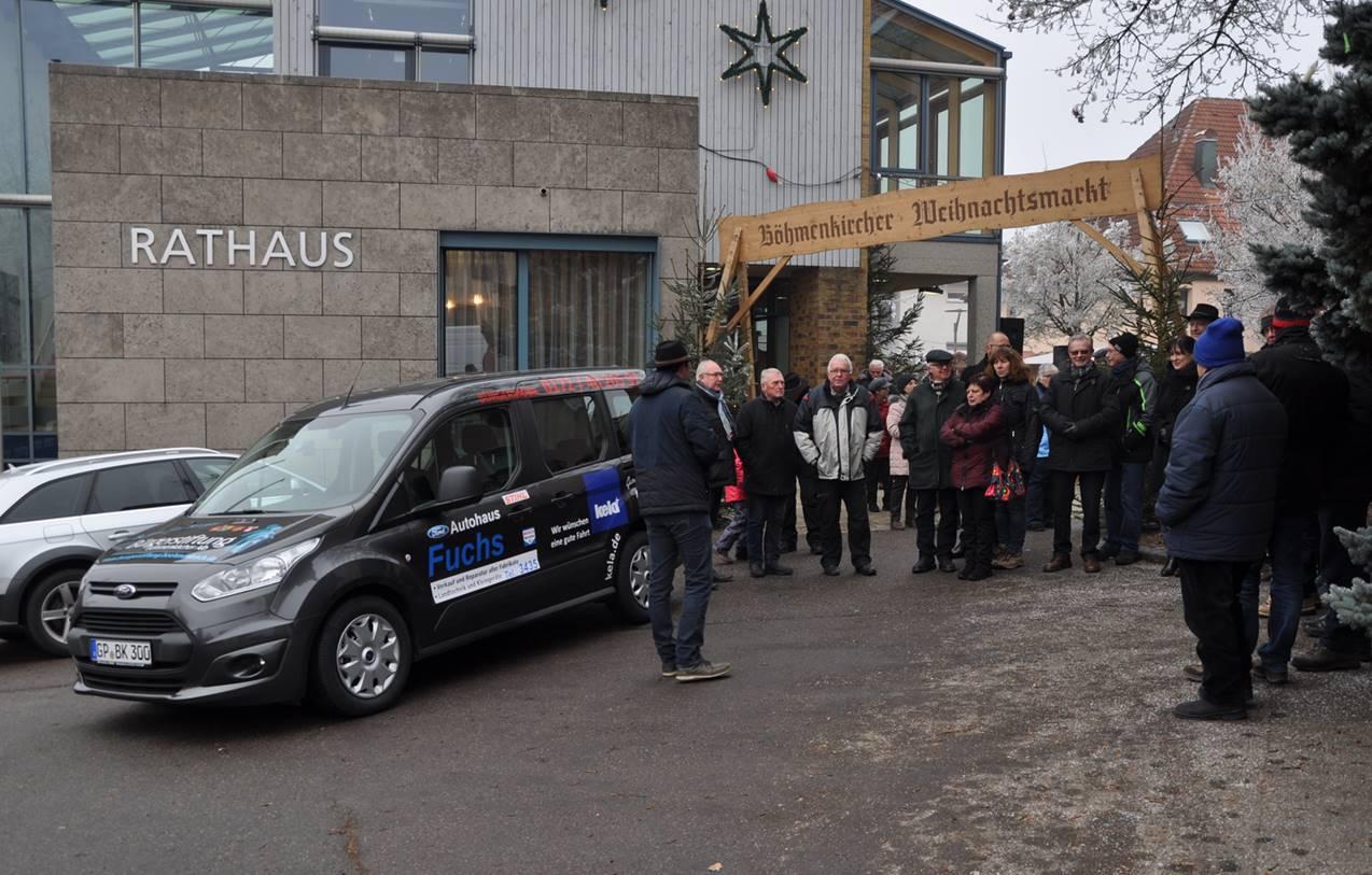 Autohaus Fuchs - Bürgermobil - Rathaus