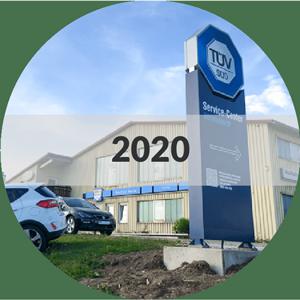 Betriebserweiterung 2020 - TÜV Service Center und Waschstrasse