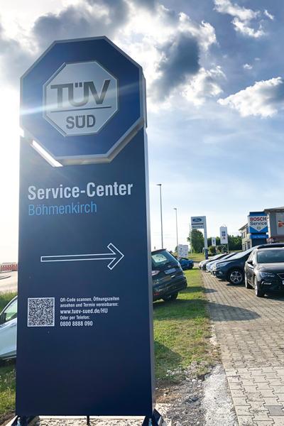 TÜV SÜD Service Center - Autohaus Fuchs